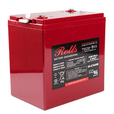 S6 275agm Rolls Battery